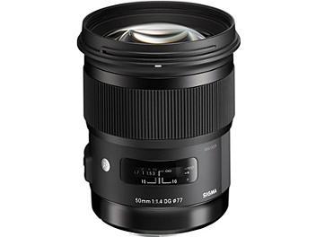 Sigma 50mm F1.4 DG HSM Art Lens - Nikon Mount