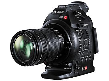 Canon EOS C100 EF Mount Digital Cinema Camera with 18-135mm IS STM Lens