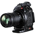 Canon EOS C100 EF Mount Cinema Camcorder with 18-135mm IS STM Lens