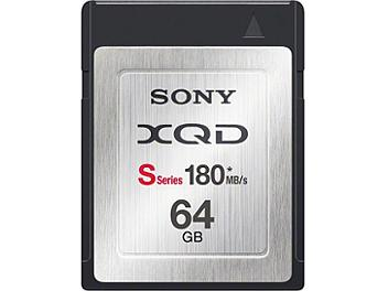 Sony 64GB QDS64/T XQD S Series Memory Card (pack 5 pcs)