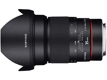 Samyang 35mm F1.4 AS UMC AE Chip Lens - Canon Mount