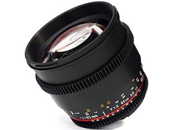 Samyang 85mm T1.5 Cine AS IF UMC Lens - Micro Four Thirds Mount