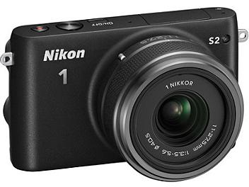 Nikon 1 S2 Camera Kit with 11-27.5mm Lens - Black
