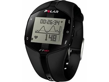 Polar FT80 WD Heart Rate Monitor Watch - Black