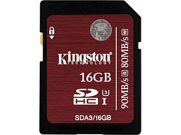 Kingston 16GB Class-10 UHS-I SDHC Memory Card (pack 2 pcs)