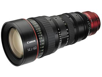 Canon CN-E 14.5-60mm T2.6 L S Cine Lens - EF Mount