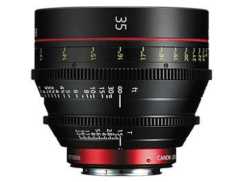 Canon CN-E 35 T1.5 L F Cine Lens - EF Mount