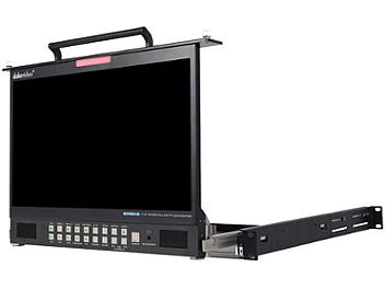 Datavideo TLM-170PM 17.3-inch LCD 1U Foldable Rackmount Monitor