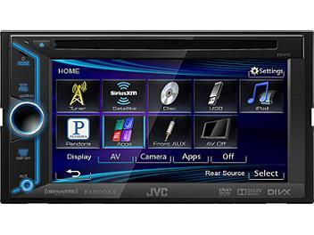JVC KW-V20BT 6.1-Inch Bluetooth-DVD-USB Multimedia Receiver