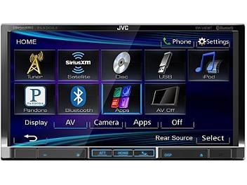 JVC KW-V40BT 7-Inch Bluetooth-DVD-USB Multimedia Receiver