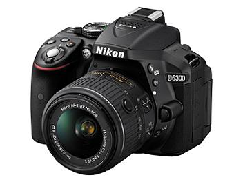 Nikon D5300 DSLR Camera Kit with 18-55mm VR II Lens