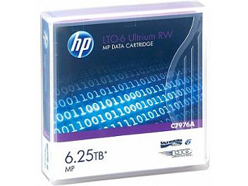 Hewlett-Packard C7976A LTO 6 Ultrium 6.25TB Data Cartridge (pack 20 pcs)