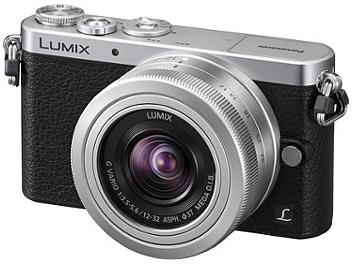 Panasonic Lumix DMC-GM1 Camera PAL Kit with12-32mm Silver Lens