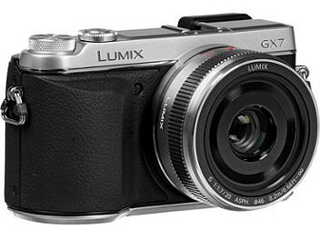 Panasonic DMC-GX7 Mirrorless Digital Camera PAL Kit with 20mm F1.7 II ASPH. Lens