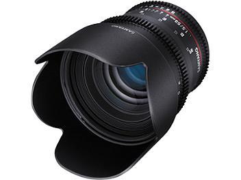 Samyang 50mm T1.5 AS UMC VDSLR II Lens - Canon EF Mount