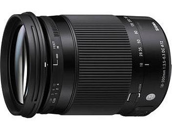 Sigma 18-300mm F3.5-6.3 DC Macro OS HSM Lens - Canon Mount