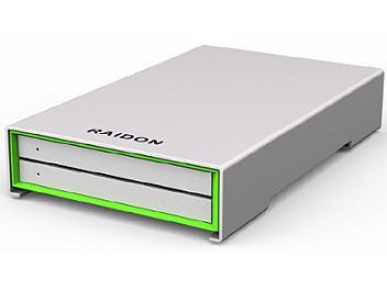 RAIDON GR2660-B3 2-Bay 2.5-inch HDD/SSD RAID Storage