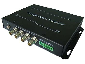 Beneston VCF-FB04TX/RX 4-channel SD / HD-SDI Fiber-Optic Transceiver