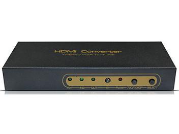 ASK HDCN0001B Ypbpr/VGA to HDMI Converter