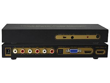 ASK HDCN0012M1 HDMI to HDMI+VGA+Audio Decoder
