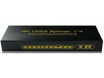 ASK HDSP0001M1 1x4 4K HDMI Splitter