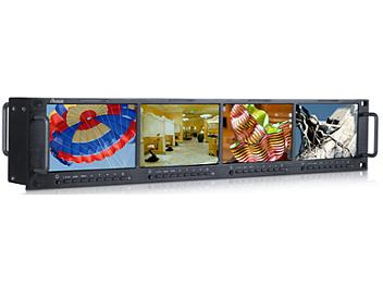 Ruige TL-S480HD-4 4 x 4.8-inch Rackmount HD-SDI Monitor
