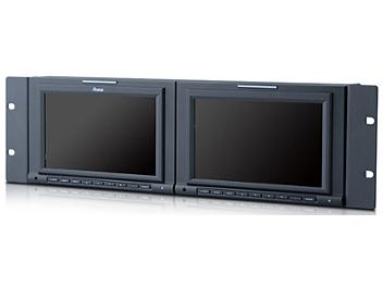 Ruige TL-S701HD-2 2 x 7-inch Rackmount HD-SDI Monitor