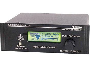 Lectrosonics R400A UHF Diversity Receiver 588.800-614.300MHz