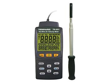 Tenmars TM-4002 Hot-Wire Air Velocity Meter