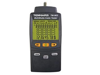 Tenmars TM-903 MultiMedia LAN Cable Tester