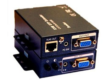 Beneston VCF-GKVM003(USB) VGA + KVM CAT5 Extender (Transmitter and Receiver)