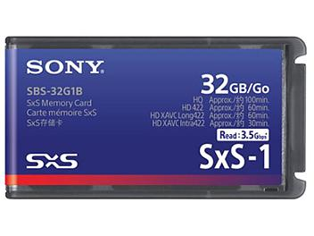 Sony SBS-32G1B 32GB SxS Memory Card