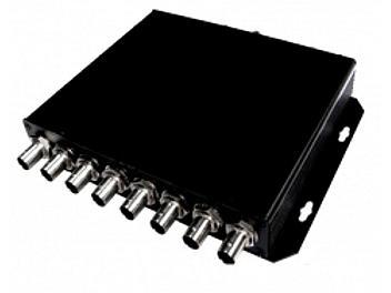 Beneston VCF-1008DA-P 1x8 SD / HD / 3G-SDI Distributor / Amplifier