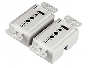 Beneston HMI-WA001TXRX HDMI CAT5/6 Wallplate Extender with IR (Transmitter and Receiver)