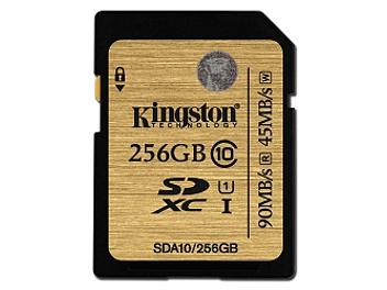 Kingston 256GB UHS-1 Ulimate SDXC Memory Card 90MB/s