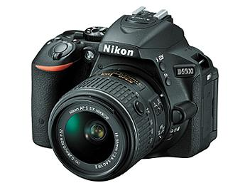 Nikon D5500 Digital SLR Camera with 18-55mm Lens