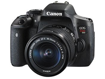 Canon EOS-750D DSLR Camera with Canon EF-S 18-55mm Lens