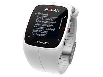 Polar M400 90051347 GPS Sports Watch with Heart Rate Sensor - White
