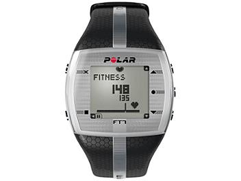 Polar FT7M 90051054 Integrated Fitness Watch with Heart Rate - Black/Silver