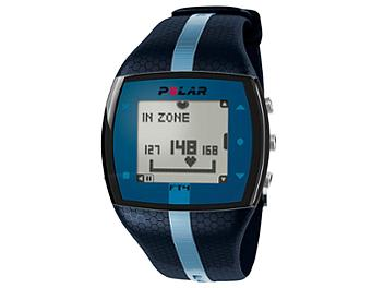 Polar FT7M Integrated Fitness Watch with Heart Rate - Blue/Black