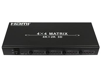Globalmediapro CV-HDM-944 4x4 HDMI Matrix Switcher