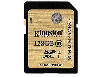Kingston 128GB UHS-1 SDXC Memory Card (Class 10)