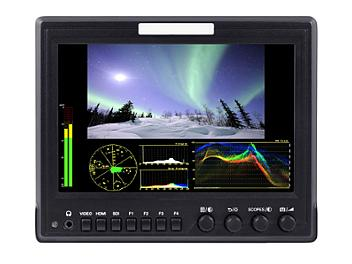 Globalmediapro FVZ7 7-inch on-Camera HD-SDI Monitor with Waveform / Vectorscope