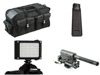 Globalmediapro AK-1 Cold Shoe Camcorder Accessory Kit
