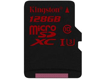 Kingston 128GB UHS-1 Ultra microSDXC Memory Card (Class 10) 90MB/s
