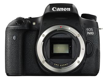 Canon EOS-760D Digital SLR Camera Kit with Canon EF-S 18-200mm Lens