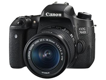 Canon EOS-760D DSLR Camera Kit with Canon EF-S 18-55mm Lens