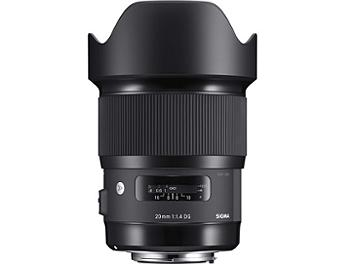 Sigma 20mm F1.4 DG HSM Art Lens - Canon Mount