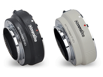 Commlite CM-EF-NEX EF / EF-S Lens to E-Mount Camera Mount Adapter (Black)