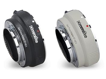 Commlite CM-EF-NEX EF / EF-S Lens to E-Mount Camera Mount Adapter (White)